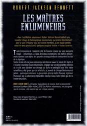 Les maîtres enlumineurs - 4ème de couverture - Format classique