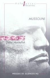 Mussolini - Couverture - Format classique