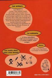 Osca ! je parle occitan - 4ème de couverture - Format classique