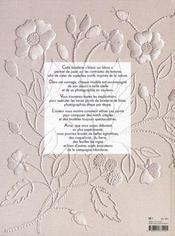 La broderie Mountmellick ; les bases - 4ème de couverture - Format classique