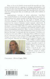 Huna. Secrets De Famille - 4ème de couverture - Format classique