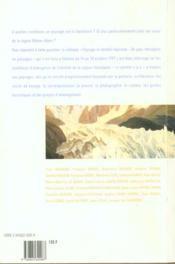 Paysage et identite regionale ; de pays rhonalpins en paysages - 4ème de couverture - Format classique