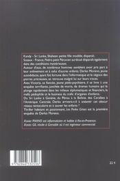 Les perles grises - 4ème de couverture - Format classique