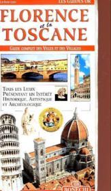 Guides or florence & toscane/bonechi - Couverture - Format classique