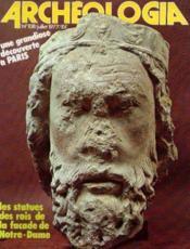 Archeologia n°108 juillet 1977 - Couverture - Format classique