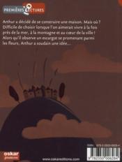 La maison d'Arthur - 4ème de couverture - Format classique