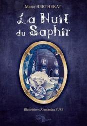 La nuit du saphir - Couverture - Format classique