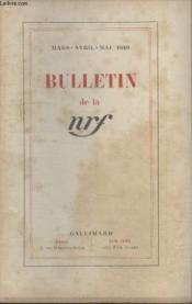 Bulletin Mars Avril Mai 1949 N°21 22 23. - Couverture - Format classique