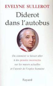 Diderot Dans L'Autobus - Couverture - Format classique