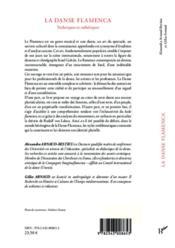 La danse flamenca ; techniques et esthétiques - 4ème de couverture - Format classique