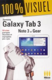 Samsung Galaxy Tab 3, Note 3 et Gear - Couverture - Format classique