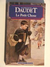 Le Petit Chose : histoire d'un enfant - Intérieur - Format classique