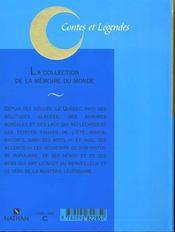 Contes Et Legendes T.22 - 4ème de couverture - Format classique