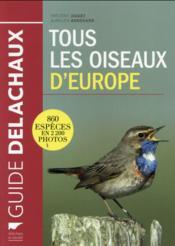Tous les oiseaux d'Europe - Couverture - Format classique