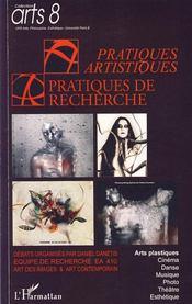 Pratiques artistiques, pratiques de recherche - Intérieur - Format classique