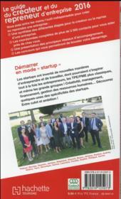 Guide Du Routard ; Du Créateur Et Du Repreneur D'Entreprise - 4ème de couverture - Format classique