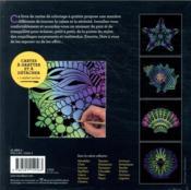 Cartes à gratter ; coquillages - 4ème de couverture - Format classique