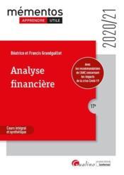 Analyse financière (édition 2020/2021) - Couverture - Format classique
