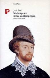 Shakespeare notre contemporain - Couverture - Format classique