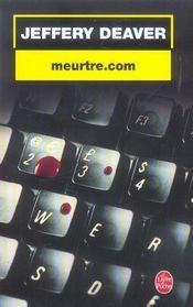 Meurtre.com - Intérieur - Format classique