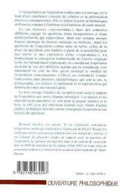 L'Exposition : Interpretation Et Reinterpretation - 4ème de couverture - Format classique