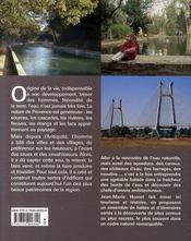 Les monuments de l'eau en Provence - 4ème de couverture - Format classique