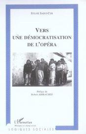 Vers une democratisation de l'opera - Intérieur - Format classique