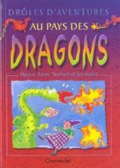 Droles D'Aventures Au Pays Des Dragons - Couverture - Format classique
