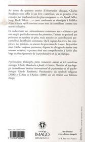 De l'instinct à l'esprit ; précis de psychologie analytique - 4ème de couverture - Format classique