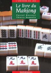 Livre du mahjong - Intérieur - Format classique