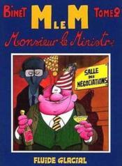 Monsieur Le Ministre T.2 - Couverture - Format classique