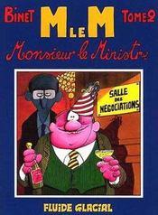 Monsieur Le Ministre T.2 - Intérieur - Format classique
