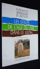 Steles De L'Age Du Fer Dans Le Leon - Couverture - Format classique