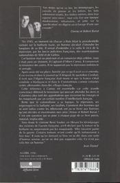 Algerie 1956 . Livre Blanc Sur La Repression - 4ème de couverture - Format classique