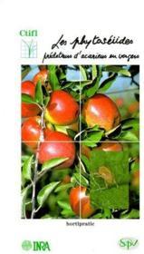 Les phytoséiides ; prédateurs d'acariens en vergers - Couverture - Format classique
