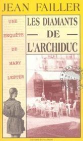 MARY LESTER T.2 ; les diamants de l'archiduc - Couverture - Format classique