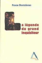 La légende du grand inquisiteur - Intérieur - Format classique