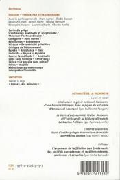 Labyrinthe - Atelier Interdisciplinaire T.26 ; Penser Par Extraordinaire - 4ème de couverture - Format classique