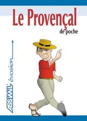 Le provençal de poche - Couverture - Format classique