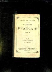 LIVRE DE L ELEVE. EXERCICES FRANCAIS. N° 2 2em EDITION. - Couverture - Format classique
