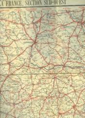 Carte Routiere Pour Cyclistes Et Automobiles Du Centre De La France, Section Sud-Ouest. Carte N°16. - Couverture - Format classique