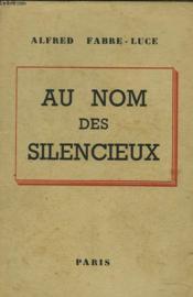 Au Nom Des Silencieux - Couverture - Format classique