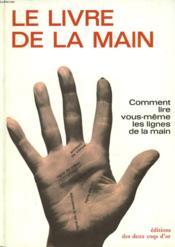 Le Livre De La Main - Couverture - Format classique