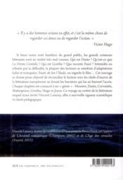 Sept génies ; voyage au centre de la littérature - 4ème de couverture - Format classique
