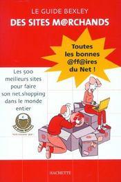 Le Guide Bexley Des Sites Marchands ; Edition 2002 - Intérieur - Format classique