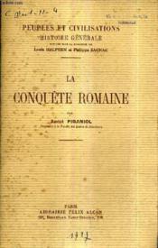 La Conquete Romaine. - Couverture - Format classique