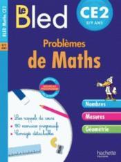 CAHIERS BLED ; problèmes de maths ; CE2 - Couverture - Format classique
