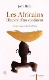 Les africains - histoire d'un continent - Couverture - Format classique