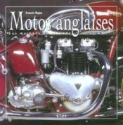 Motos Anglaises, Les Marques De Legende - Couverture - Format classique