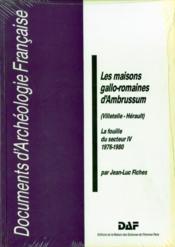 5/Les Maisons Gallo-Romaines - Couverture - Format classique